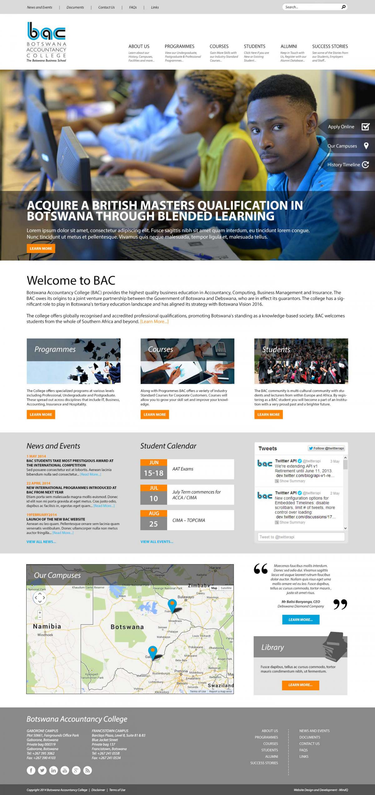 Website Design Botswana